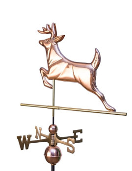 Leaping Deer Weathervane