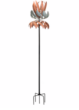 Flying Lotus Solar Vertical Wind Spinner