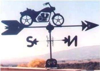 Motorcycle Weathervane