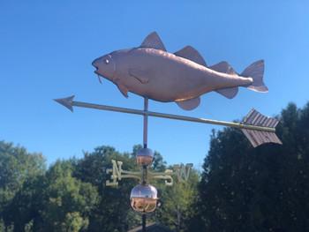 Large Cod Weathervane