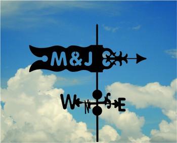 Custom Banner Weathervane