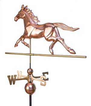 Black Jack Horse Weathervane