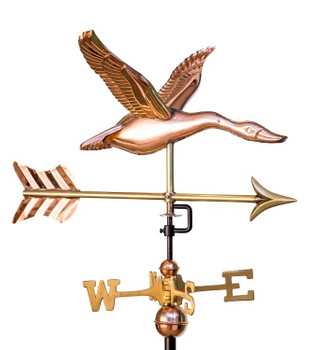 Small Flying Goose Weathervane With Arrow