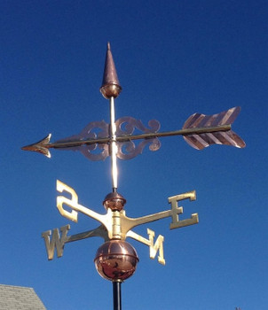 "23"" Scroll Arrow Weathervane"