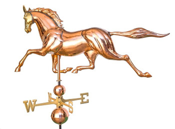 Large 3D Horse Weathervane