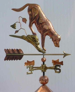 Dog and Bones Weathervane