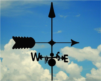 Custom Arrow Weathervane