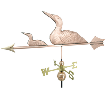 Loon and Chick Weathervane