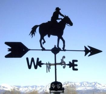Cowboy Weathervane