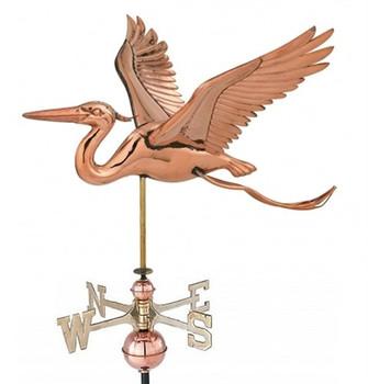 Small Heron Weathervane