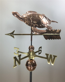 Sea Turtle Weathervane