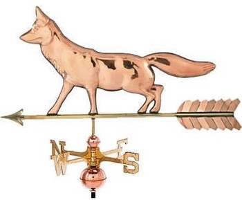 Crouching Fox Weathervane
