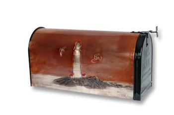 Boston Light Copper Mailbox