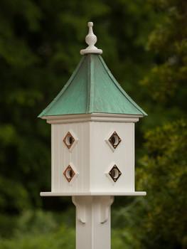 """12""""W x 32""""H - Square Dovecote Birdhouse"""
