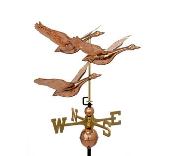 Three Flying Geese weathervane