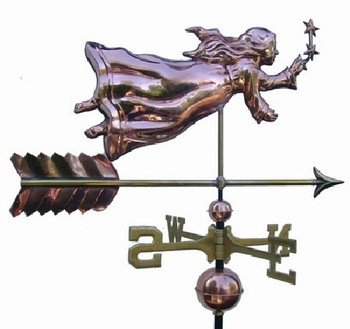 Angel with Stars Weathervane