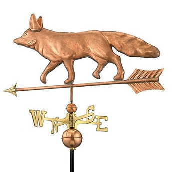 Walking Fox Weathervane