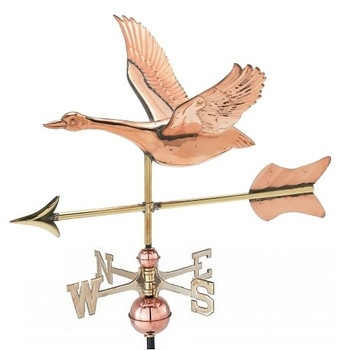 Small 3-D Goose Weathervane
