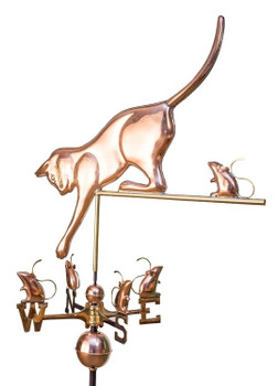 Cat and Mice Weathervane