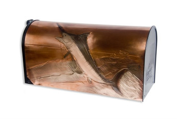 Marlin Copper Mailbox