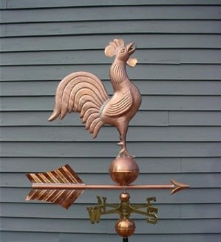 Chanticleer Rooster Weathervane