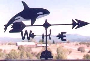 Killer Whale Weathervane