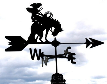 Bucking Horse Weathervane