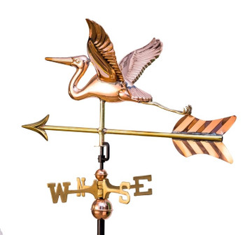 Small Deluxe Heron Weathervane With Arrow