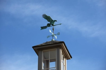 "Diving Eagle with 30"" Arrow Weathervane"