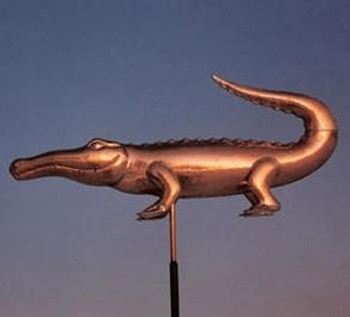 Crocodile Weathervane