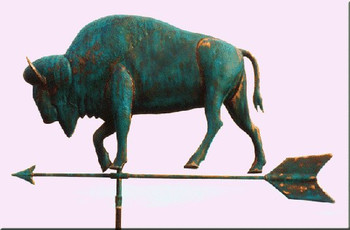 Large Buffalo Weathervane 1