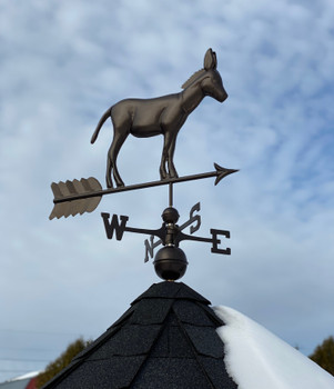 Donkey Weathervane 1