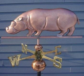 Hippo Weathervane