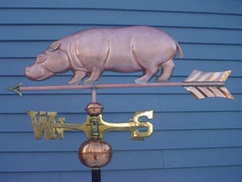 Hippo Weathervane