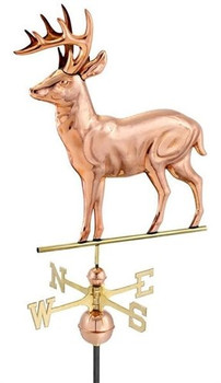 Standing Deer Weathervane