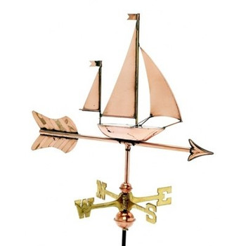 Small Sailboat Weathervane