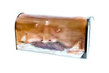 Sailing Days Copper Mailbox