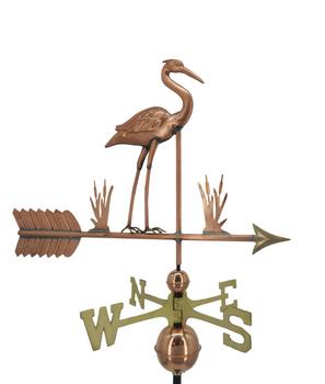 Standing Heron Weathervane