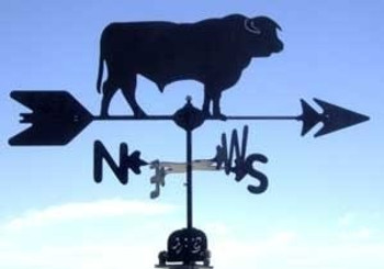 Hereford Bull Weathervane