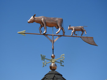 Cow and Calf Weathervane 1