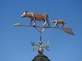 Cow and Calf Weathervane 1