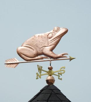 Bullfrog Weathervane