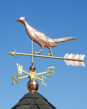 Running Pheasant Weathervane