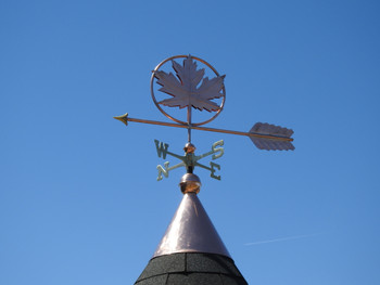 Maple Leaf Weathervane