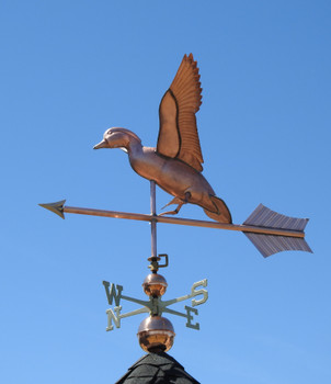 Jumbo Landing Duck Weathervane