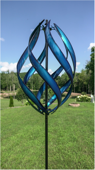STRATUS BLUE KINETIC WIND SPINNER