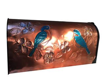 Blue Birds Mailbox