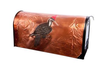 Proud Pileated Woodpecker Mailbox