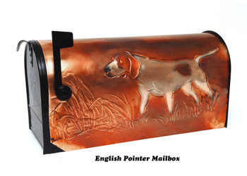 English Pointer Mailbox