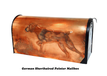 German Shorthair Pointer Mailbox